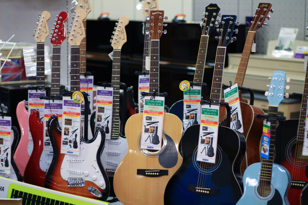 各種ギター